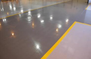 Краска для бетонного пола, чем красить?