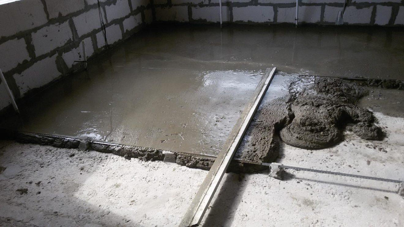 Какой нужен бетон для стяжки пола?